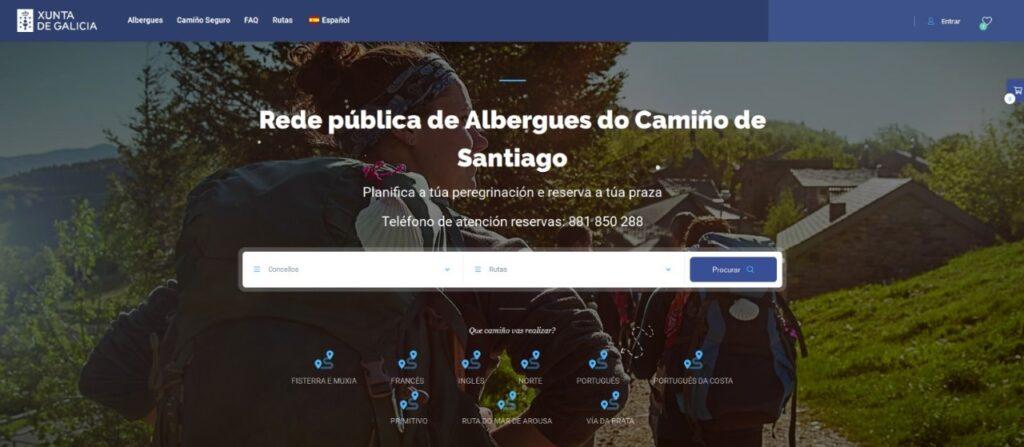reserva albergue Camino de Santiago